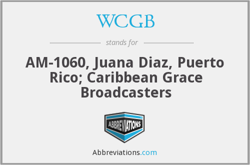 What does WCGB stand for?