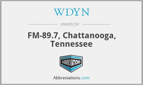 WDYN - FM-89.7, Chattanooga, Tennessee