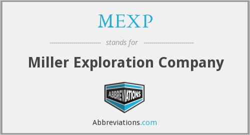 What does MEXP stand for?