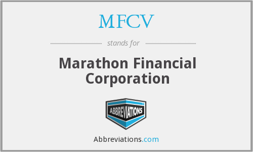 What does MFCV stand for?