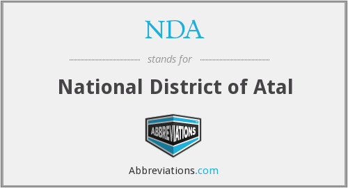 NDA - National District of Atal