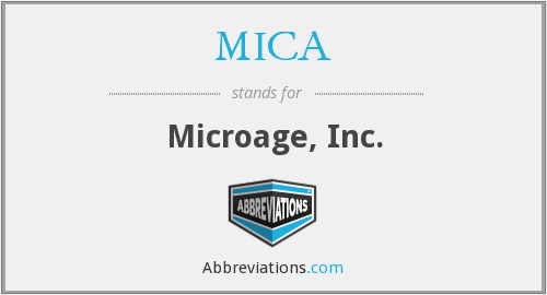 MICA - Microage, Inc.