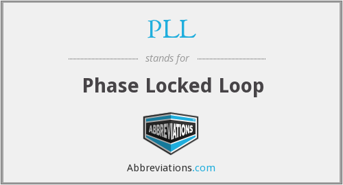 PLL - Phase Locked Loop