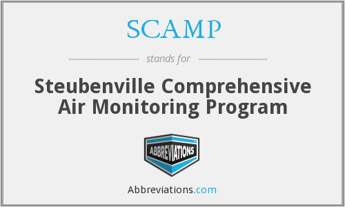 SCAMP - Steubenville Comprehensive Air Monitoring Program