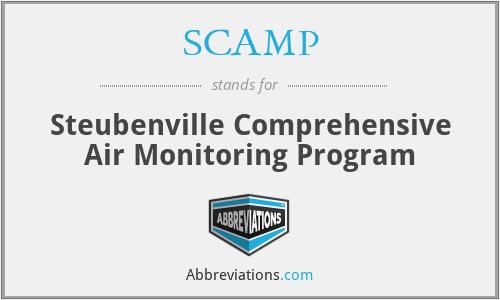 SCAMP - Steubenville Comprehensive Air Monitoring Program