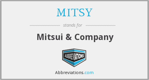 What does MITSY stand for?