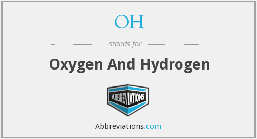 OH - Oxygen And Hydrogen