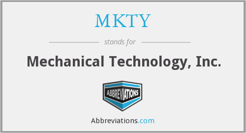 What does MKTY stand for?