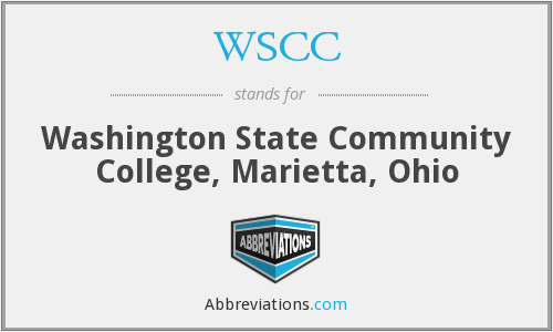 WSCC - Washington State Community College, Marietta, Ohio