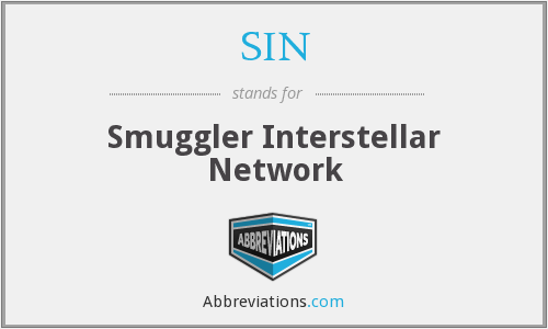 SIN - Smuggler Interstellar Network