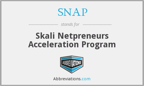SNAP - Skali Netpreneurs Acceleration Program