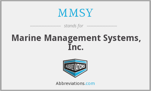 What does MMSYW stand for?
