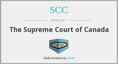 SCC - The Supreme Court of Canada