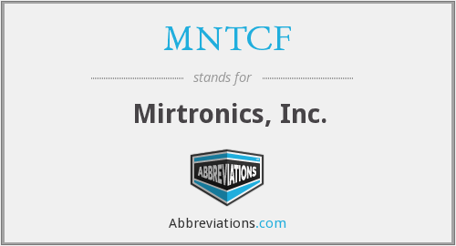What does MNTCF stand for?