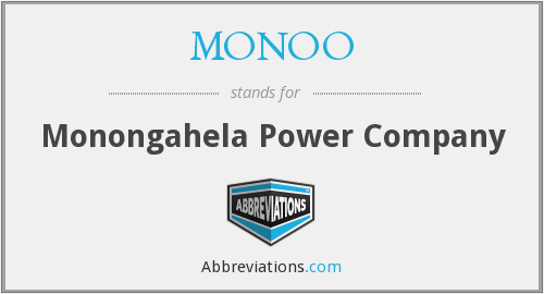 What does MONOO stand for?