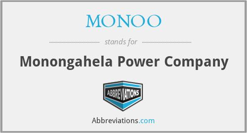 MONOO - Monongahela Power Company