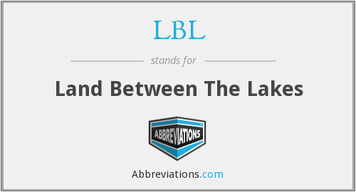 LBL - Land Between The Lakes