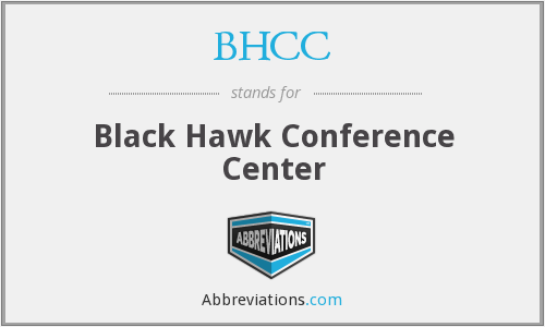 BHCC - Black Hawk Conference Center