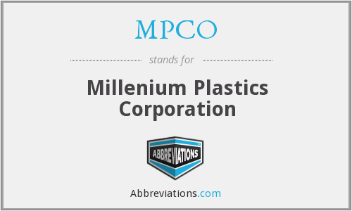 What does MPCO stand for?