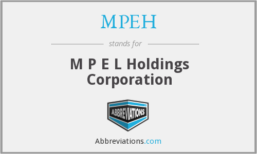 What does MPEH stand for?