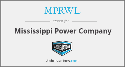 What does MPRWL stand for?