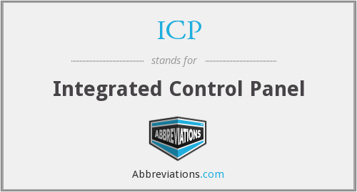 ICP - Integrated Control Panel