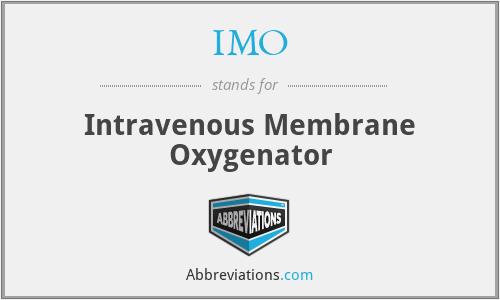 IMO - Intravenous Membrane Oxygenator