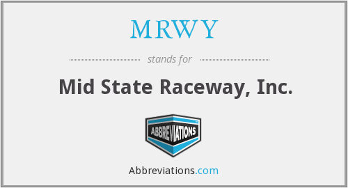 What does MRWY stand for?