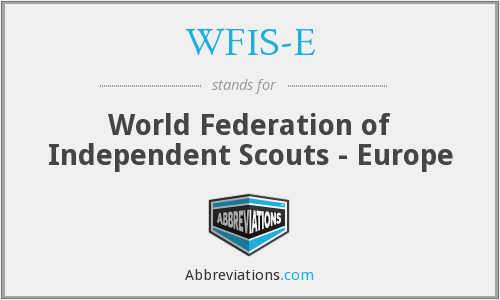 What does WFIS-E stand for?