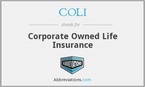 What does COLI stand for?