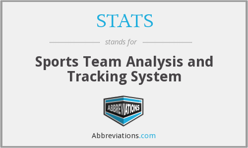 STATS - Sports Team Analysis and Tracking System