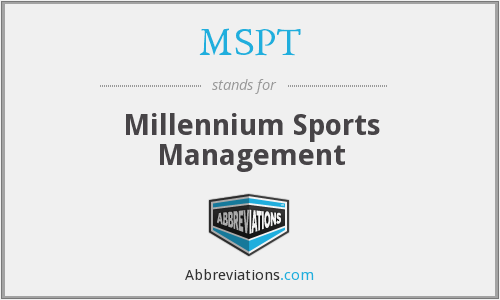 What does MSPT stand for?