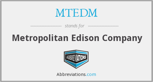 What does MTEDM stand for?