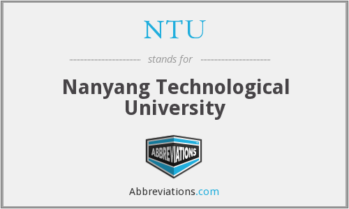 NTU - Nanyang Technological University