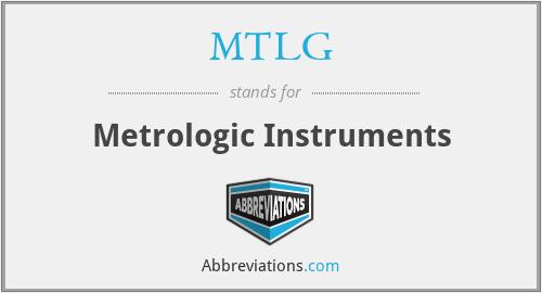 MTLG - Metrologic Instruments