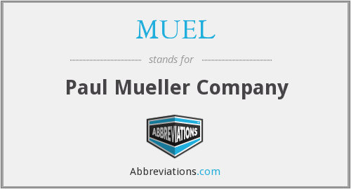 What does MUEL stand for?