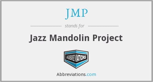 JMP - Jazz Mandolin Project