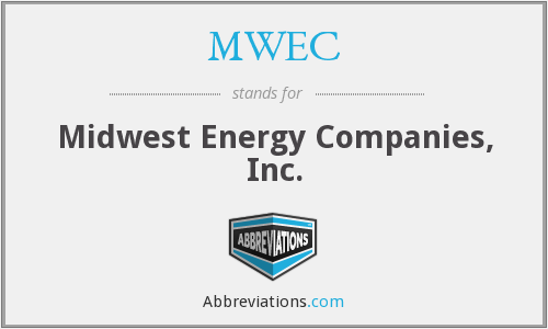 MWEC - Midwest Energy Companies, Inc.