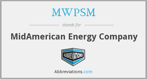 What does MWPSM stand for?