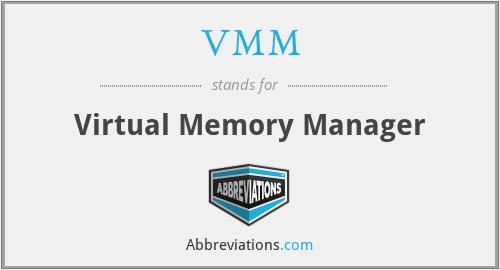 VMM - Virtual Memory Manager
