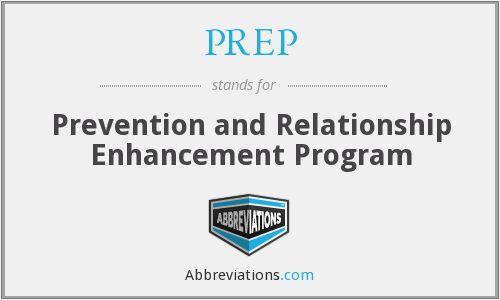 PREP - Prevention and Relationship Enhancement Program
