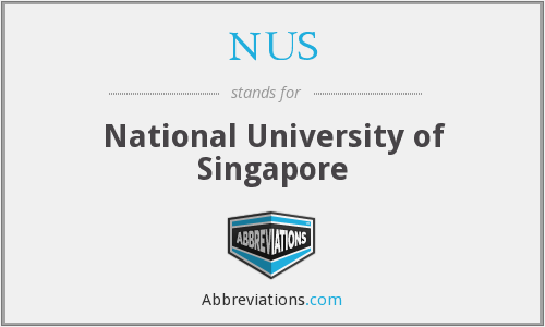 What does NUS stand for?