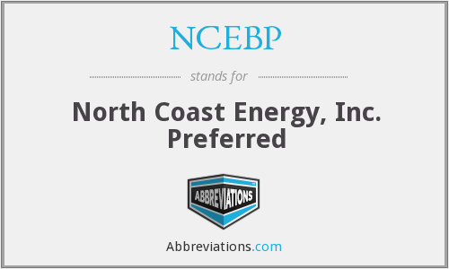 What does NCEBP stand for?