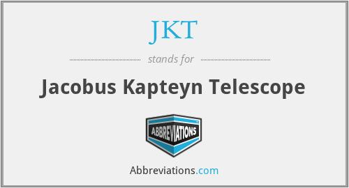 JKT - Jacobus Kapteyn Telescope